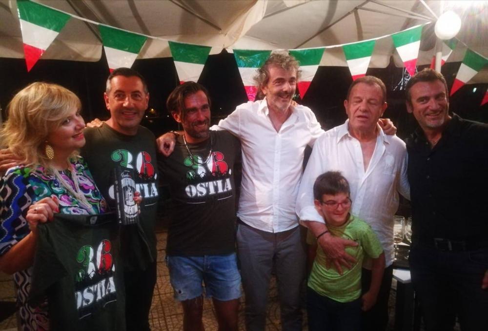 Festa bianconera a Ostia
