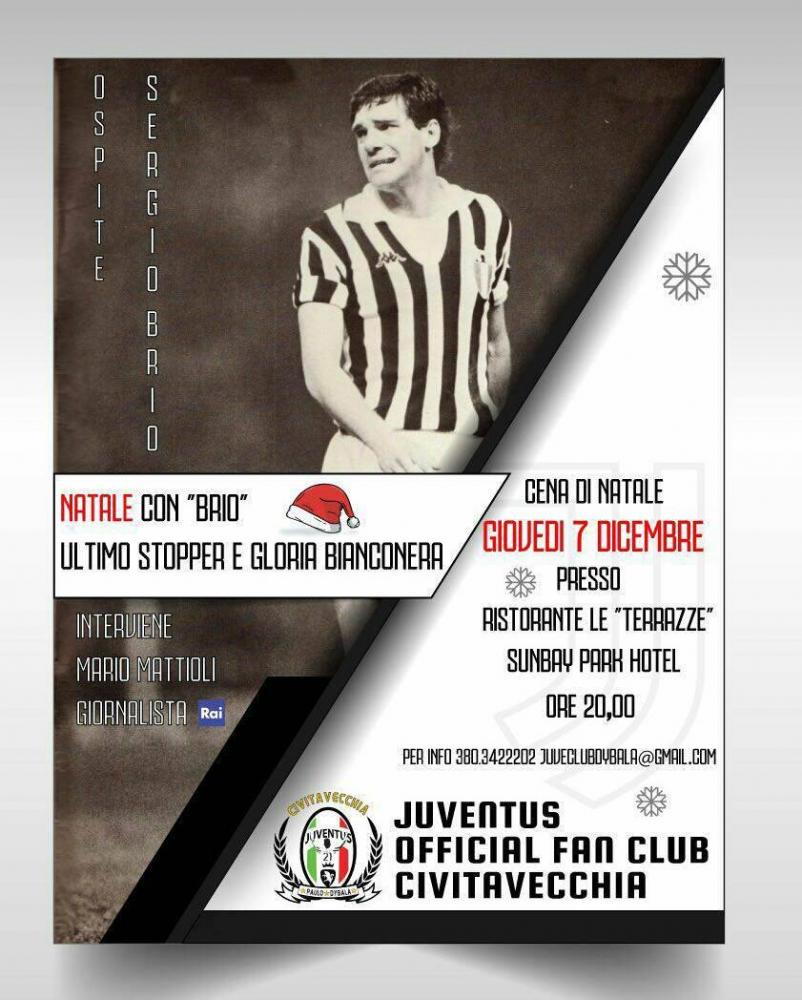 Brio ospite dello Juventus Official Fan Club Civitavecchia Paulo Dybala